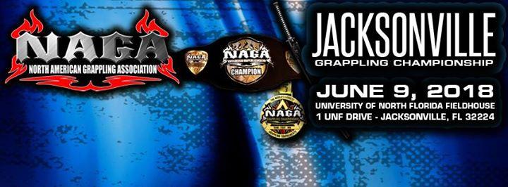 2018 Naga Jacksonville Grappling Championship Grappling Calendar